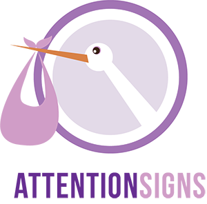 Attention Signs Modern Logo